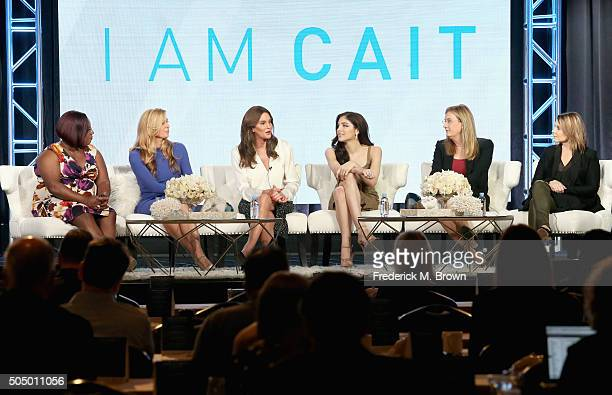 Tv personalities Chandi Moore Candis Cayne executive producer/tv personality Caitlyn Jenner tv personalities Ella Giselle Jennifer Finney Boylan and...