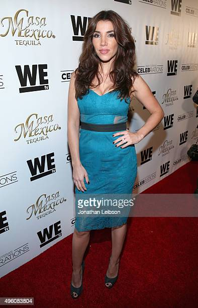 Tv personality Adrianna Costa attends the launch of WE tv's David Tutera CELEBrations and Casa Mexico Tequila on November 6 2015 in Hollywood...