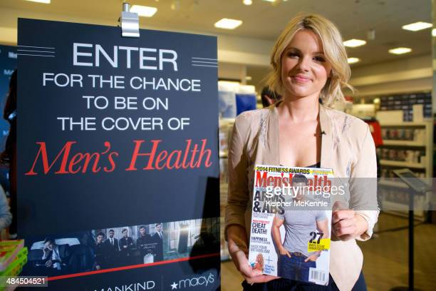 Tv personality Ali Fedowtowsky host Men's Health live casting event for the search for 'The Ultimate Men's Health Guy' presented by Kenneth Cole at...