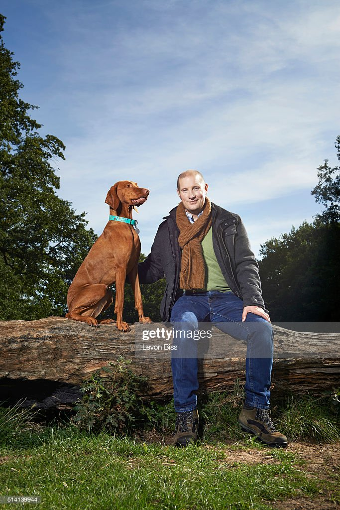 Tv personality and builder Richard Burr is photographed for the Telegraph on September 29, 2015 in London, England.