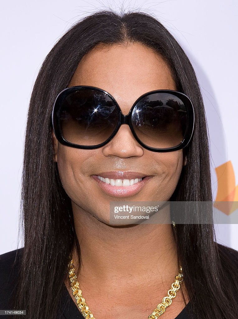 Tv personality B. Scott attends GLAAD's annual food-themed fundraiser 'GLAAD Hancock Park' on July 20, 2013 in Los Angeles, California.