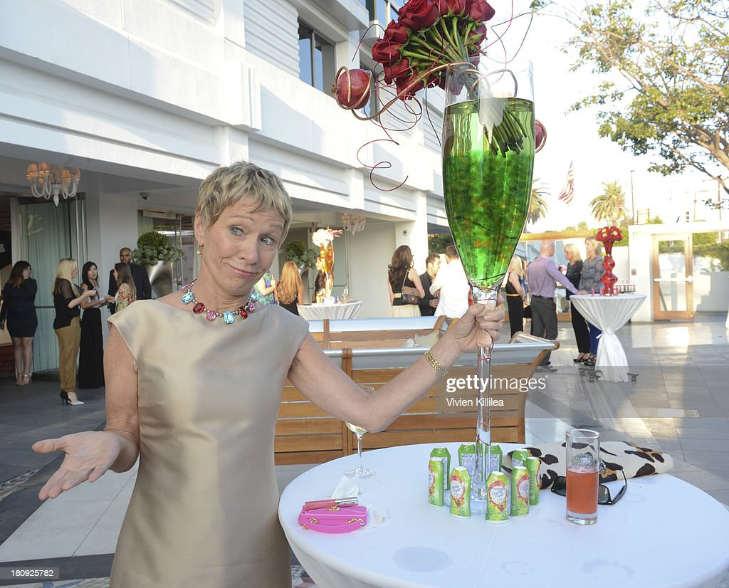 Tv personality Barbara Corcoran attends the Entertainment Tonight And Crystal Light Pre-Emmy Party at SLS Hotel on September 17, 2013 in Beverly Hills, California.
