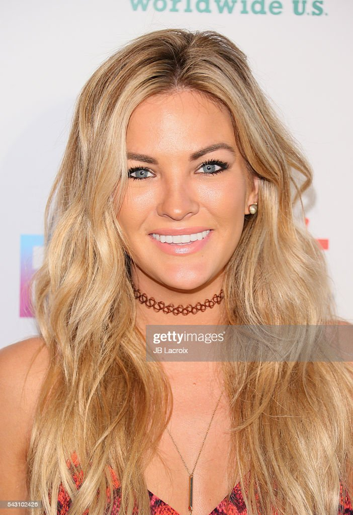 Tv personality Becca Tilley attends EpicFest 2016 hosted by L.A. Reid and Epic Records at Sony Studios on June 25, 2016 in Los Angeles, California.