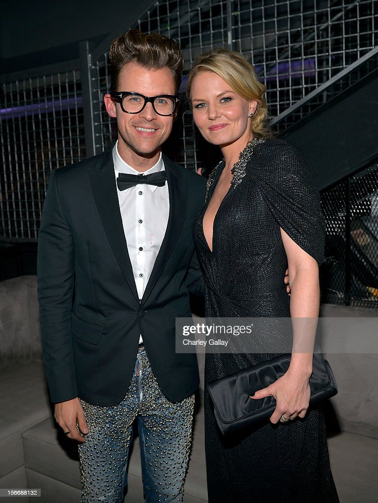 Tv personality <a gi-track='captionPersonalityLinkClicked' href=/galleries/search?phrase=Brad+Goreski&family=editorial&specificpeople=3255296 ng-click='$event.stopPropagation()'>Brad Goreski</a> and actress <a gi-track='captionPersonalityLinkClicked' href=/galleries/search?phrase=Jennifer+Morrison&family=editorial&specificpeople=233495 ng-click='$event.stopPropagation()'>Jennifer Morrison</a> attend the Rolling Stone Magazine Official 2012 American Music Awards VIP after party presented by Nokia and Rdio at Rolling Stone Restaurant And Lounge on November 18, 2012 in Los Angeles, California.