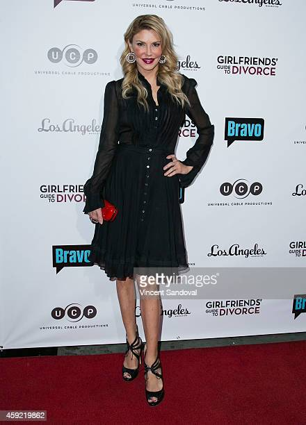 Tv personality Brandi Glanville attends Bravo's Los Angeles premiere of 'Girlfriends Guide To Divorce' at Ace Hotel on November 18 2014 in Los...