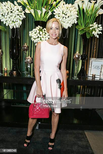 Tv Personality Camille Grammer attends the GBK Productions Luxury Lounge during Emmy's Weekend on September 20 2013 in Hollywood California