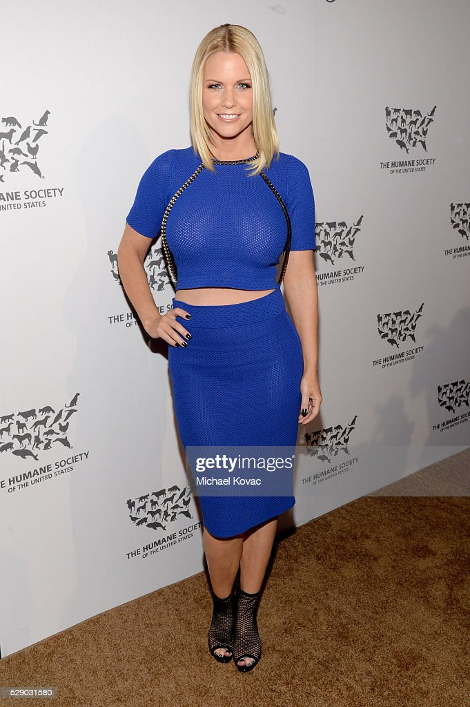 Tv personality Carrie Keagan attends The Humane Society of the United States' to the Rescue Gala at Paramount Studios on May 7, 2016 in Hollywood, California.