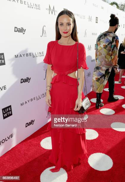 Tv personality Catt Sadler attends the Daily Front Row's 3rd Annual Fashion Los Angeles Awards at Sunset Tower Hotel on April 2 2017 in West...