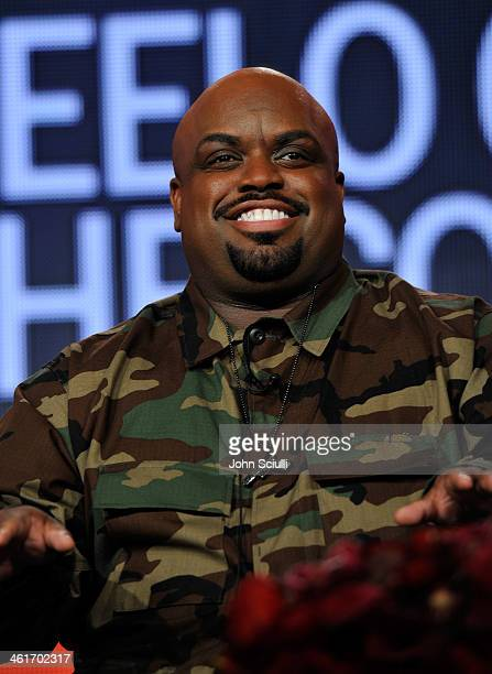 Tv personality CeeLo Green speaks onstage at the 2014 TCA Winter Press Tour Turner Broadcasting Presentation on January 10 2014 in Pasadena California