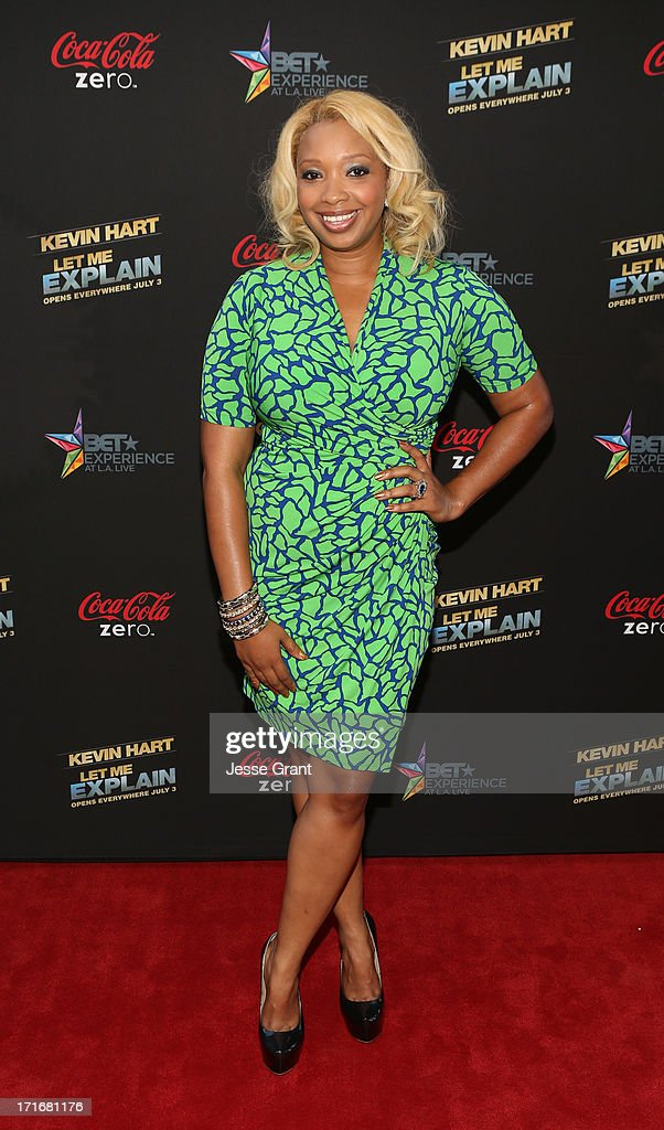Tv personality Chef Huda attends Movie Premiere 'Let Me Explain' with Kevin Hart during the 2013 BET Experience at Regal Cinemas L.A. Live on June 27, 2013 in Los Angeles, California.