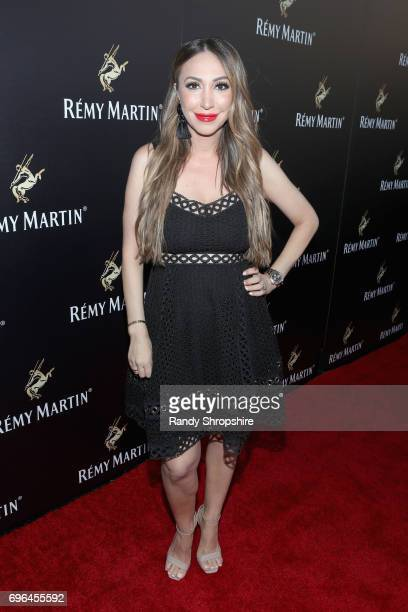 Tv personality Diana Madison attends Remy Martin's special evening with Jeremy Renner and Fetty Wap celebrating The Exceptional at Eric Buterbaugh...