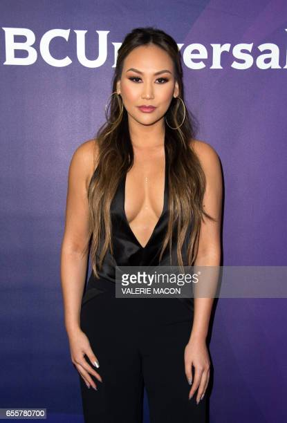 Tv personality Dorothy Wang of 'Famously Single' arrives at the NBC Universal Summer Press Day at the Beverly Hilton on March 20 Beverly Hills...