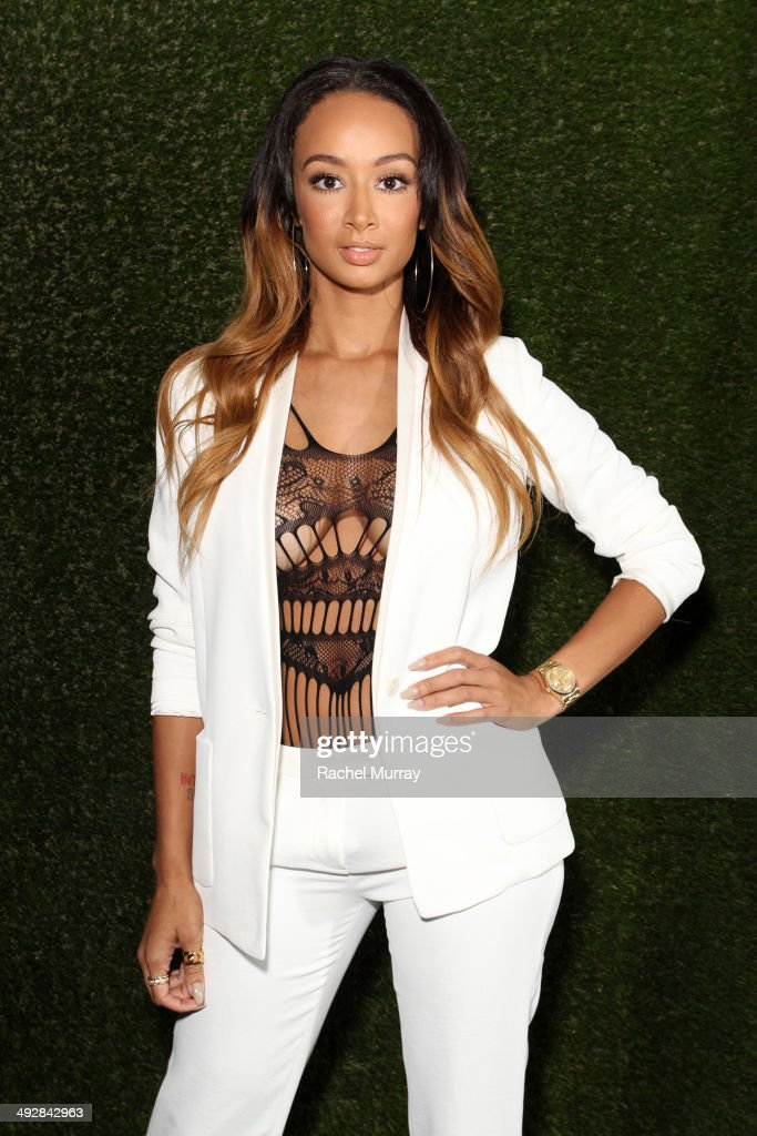 Tv personality Draya Michele attends OK Magazine's So Sexy L.A. Event at LURE on May 21, 2014 in Los Angeles, California.