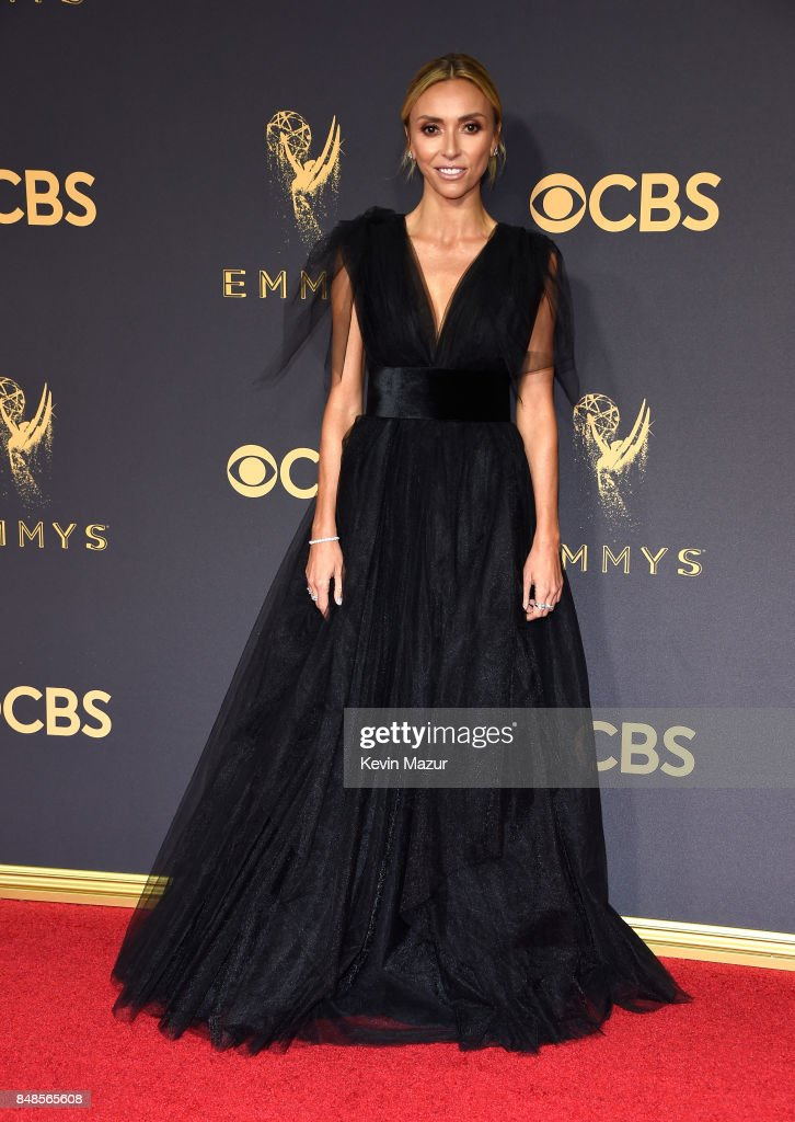 Tv personality Giuliana Rancic attends the 69th Annual Primetime Emmy Awards at Microsoft Theater on September 17, 2017 in Los Angeles, California.