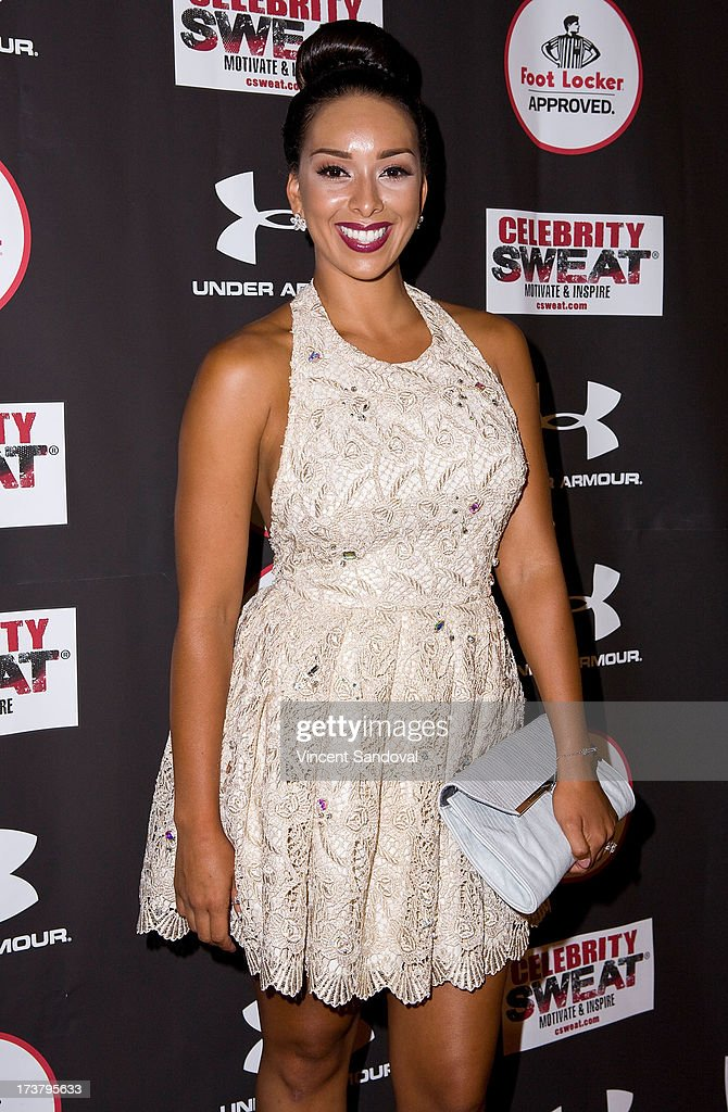 Tv personality <a gi-track='captionPersonalityLinkClicked' href=/galleries/search?phrase=Gloria+Govan&family=editorial&specificpeople=7070564 ng-click='$event.stopPropagation()'>Gloria Govan</a> attends Nelly Hosts An After Party To Celebrate The ESPYS at The Palm on July 17, 2013 in Los Angeles, California.