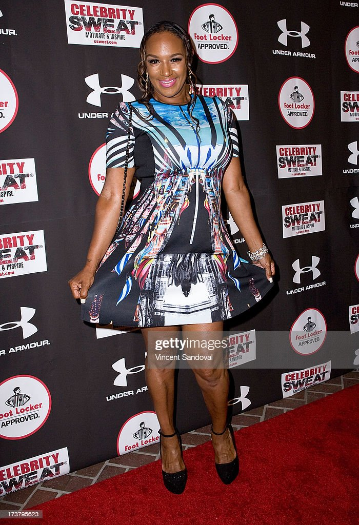 Tv personality Jackie Christie attends Nelly Hosts An After Party To Celebrate The ESPYS at The Palm on July 17, 2013 in Los Angeles, California.