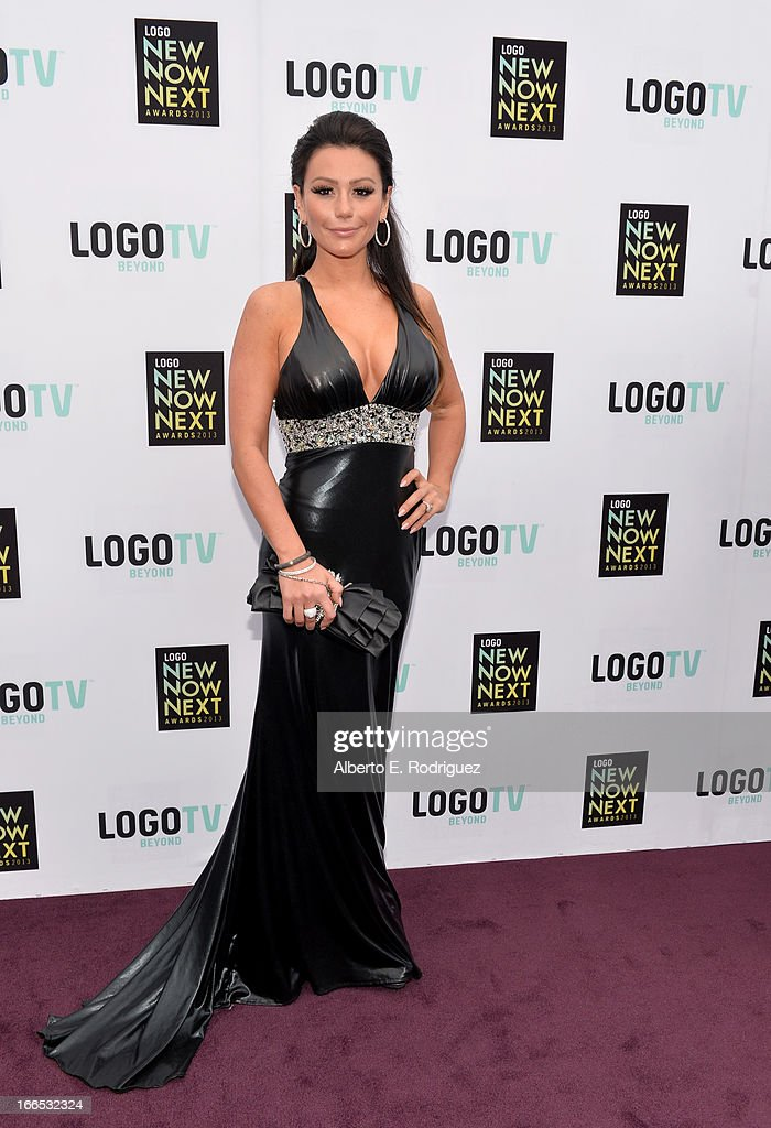 Tv personality Jenni 'JWoww' Farley attends the 2013 NewNowNext Awards at The Fonda Theatre on April 13, 2013 in Los Angeles, California.
