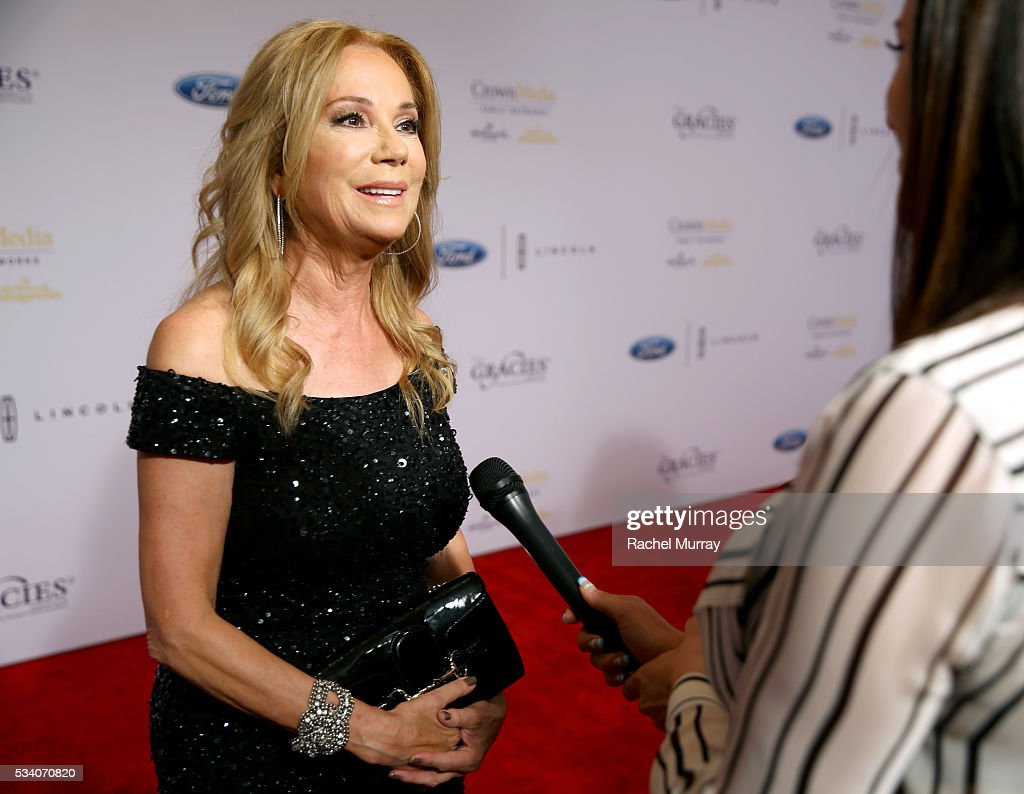 Tv personality <a gi-track='captionPersonalityLinkClicked' href=/galleries/search?phrase=Kathie+Lee+Gifford&family=editorial&specificpeople=203269 ng-click='$event.stopPropagation()'>Kathie Lee Gifford</a> attends the 41st Annual Gracie Awards at Regent Beverly Wilshire Hotel on May 24, 2016 in Beverly Hills, California.