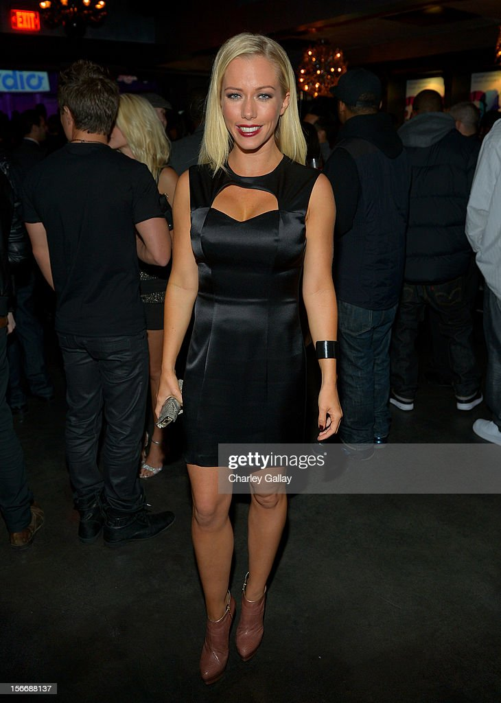 Tv personality Kendra Wilkinson attends the Rolling Stone Magazine Official 2012 American Music Awards VIP after party presented by Nokia and Rdio at Rolling Stone Restaurant And Lounge on November 18, 2012 in Los Angeles, California.