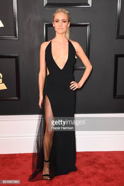 Tv personality Kristin Cavallari attends The 59th GRAMMY Awards at STAPLES Center on February 12 2017 in Los Angeles California