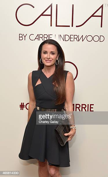 Tv personality Kyle Richards attends CALIA By Carrie Underwood Launch Event on March 10 2015 in West Hollywood California