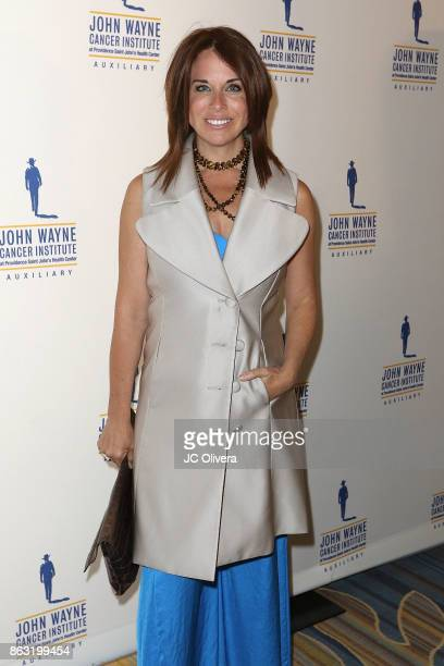 Tv personality Laura Baron attends John Wayne Cancer Institute Auxiliary honoring Sheryl A Ross MD with The Angel Award at the Beverly Wilshire Four...