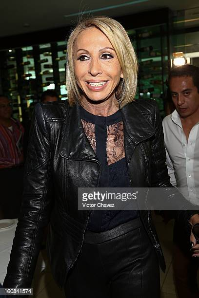 Tv personality Laura Cecilia Bozzo attends the Playboy Mexico magazine february 2013 issue photocall at La Mansion Polanco on February 6 2013 in...