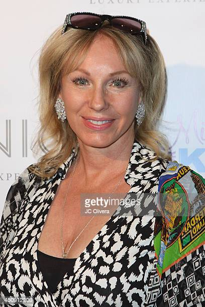 Tv personality Lea Black attends Fashion Music Make Miracles Benefiting Miracles For Kids at Kyle by Alene Too on June 19 2014 in Beverly Hills...
