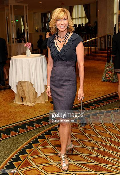 Tv personality Leeza Gibbons attends Variety's 1st Annual Power of Women Luncheon at the Beverly Wilshire Hotel on September 24 2009 in Beverly Hills...