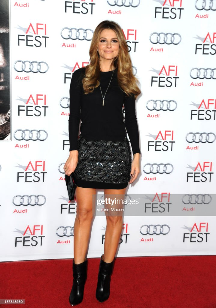 Tv personality Maria Menounos attends the premiere for 'Lone Survivor' during AFI FEST 2013 presented by Audi at TCL Chinese Theatre on November 12, 2013 in Hollywood, California.