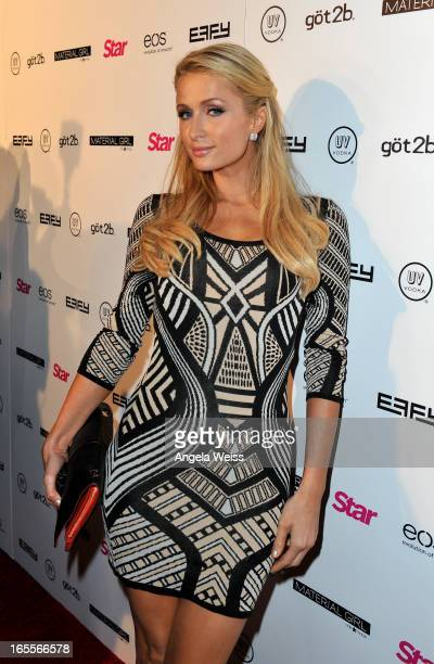 Tv personality Paris Hilton attends Star Magazine's Hollywood Rocks event held at Playhouse Hollywood on April 4 2013 in Los Angeles California