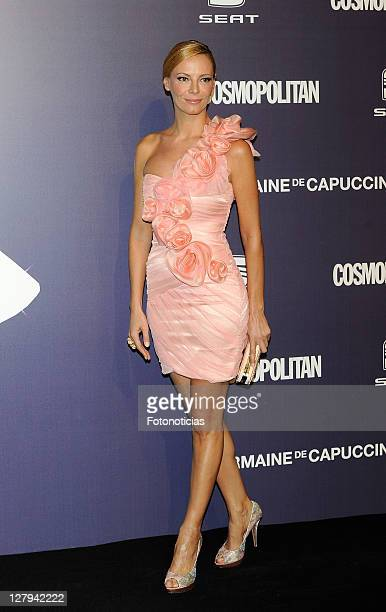 Tv personality Paula Vazquez attends 'Cosmopolitan Fun Fearless Female' Awards 2011 at the Ritz Hotel on October 3 2011 in Madrid Spain