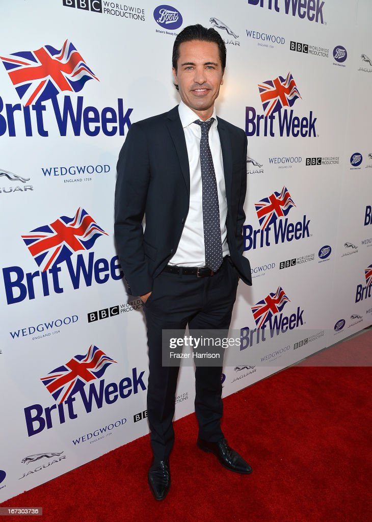 Tv personality Sean Yazbeck attends the launch of the Seventh Annual BritWeek Festival 'A Salute To Old Hollywood' on April 23, 2013 in Los Angeles, California.