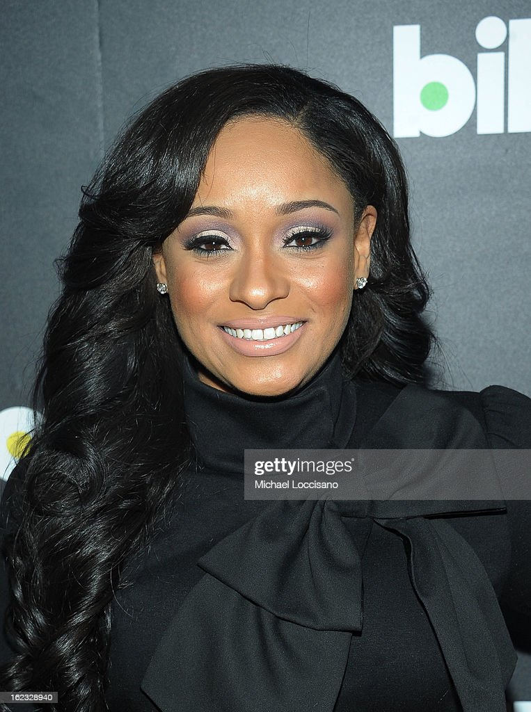 Tv personality Tahiry Jose attends The New Billboard Launch Event at Stage 48 on February 21, 2013 in New York City.