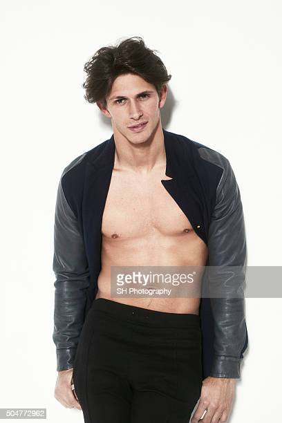 Tv personality via the Only Way is Essex Jake Hall is photographed on March 20 2015 in London England