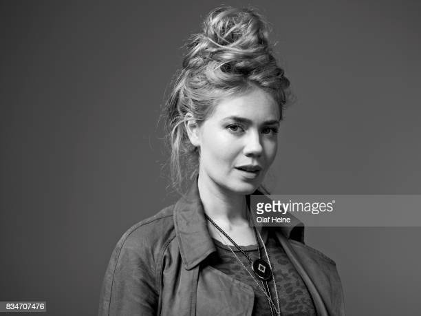 Tv presenter actor model and DJ Palina Rojinski is photographed on September 16 2015 in Cologne Germany