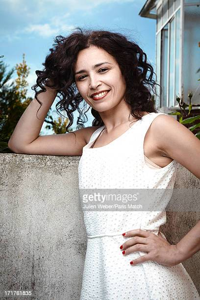 Tv presenter Aida Touihri is photographed for Paris Match on June 5 2013 in Nanterre France