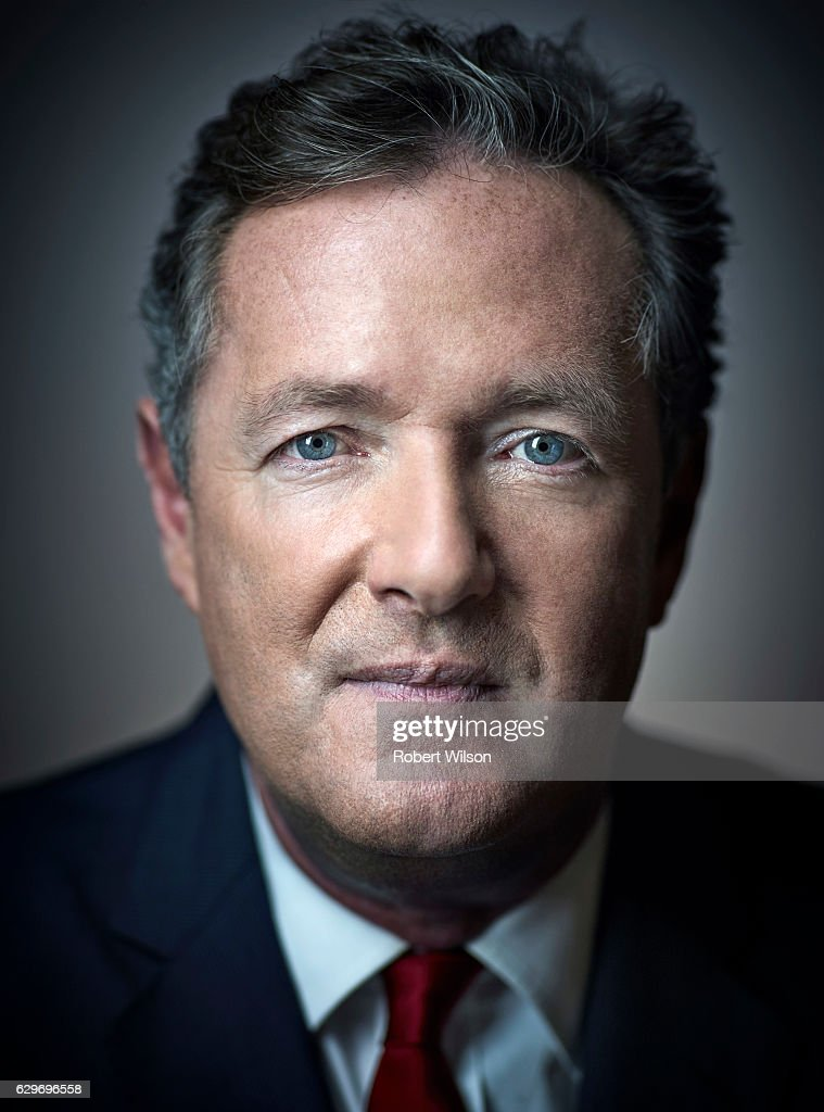 Tv presenter and columnist Piers Morgan is photographed for The Times on July 25, 2016 in London, England.