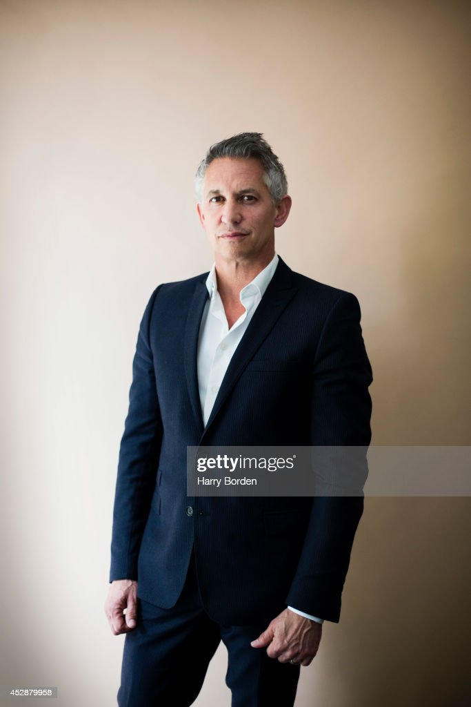 Tv presenter and former professional footballer <a gi-track='captionPersonalityLinkClicked' href=/galleries/search?phrase=Gary+Lineker&family=editorial&specificpeople=67211 ng-click='$event.stopPropagation()'>Gary Lineker</a> is photographed for the Guardian on May 14, 2014 in London, England.