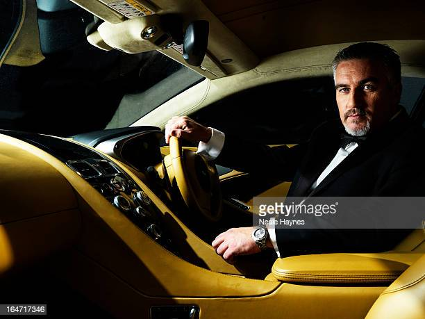 Tv presenter and master baker Paul Hollywood is photographed for Live magazine on November 15 2012 in London England