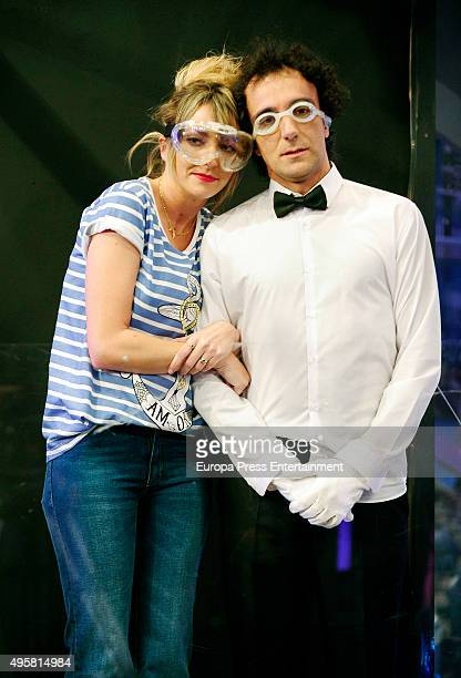 Tv presenter Anna Simon attends 'El Hormiguero' Tv Show on November 4 2015 in Madrid Spain