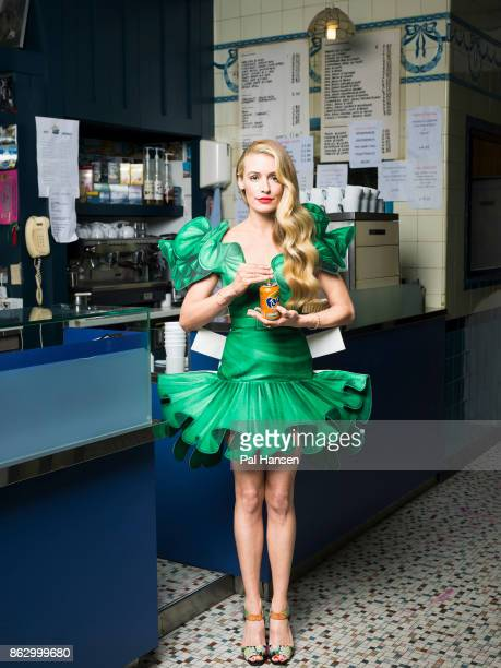 Tv presenter Cat Deeley is photographed for Grazia magazine on February y 7 2017 in London England