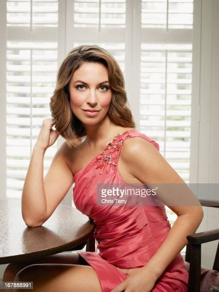 Tv presenter Emma Crosby is photographed for S magazine on March 18 2011 in London England