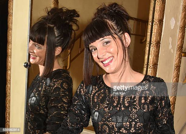 Tv presenter Erika Moulet attends 'Les Gerard De La Television 2016' Awards Ceremony At Theatre Daunou on May 30 2016 in Paris France