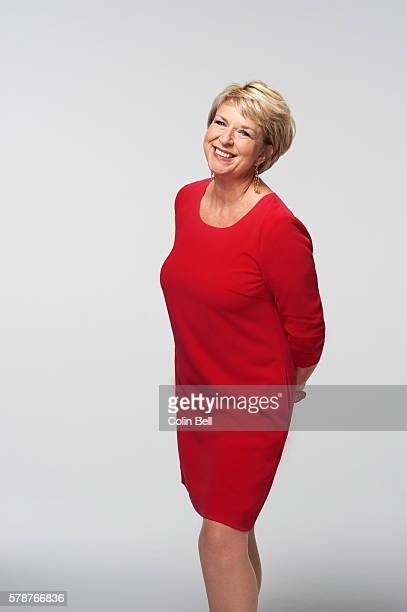 Tv presenter Fern Britton is photographed for Good Houseeeping magazine on September 12 2013 in London England
