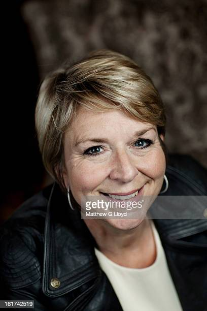 Tv presenter Fern Britton is photographed for the Times on June 13 2011 in London England