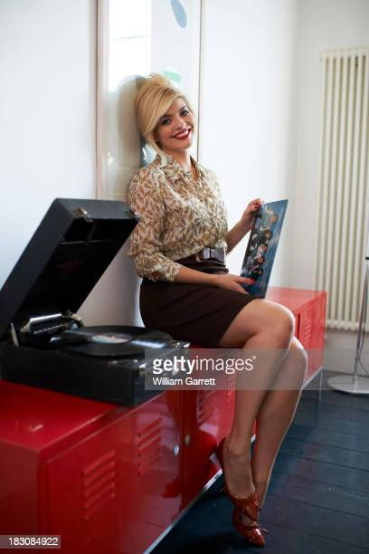 Tv presenter Holly Willoughby is photographed on June 25 2012 in London England