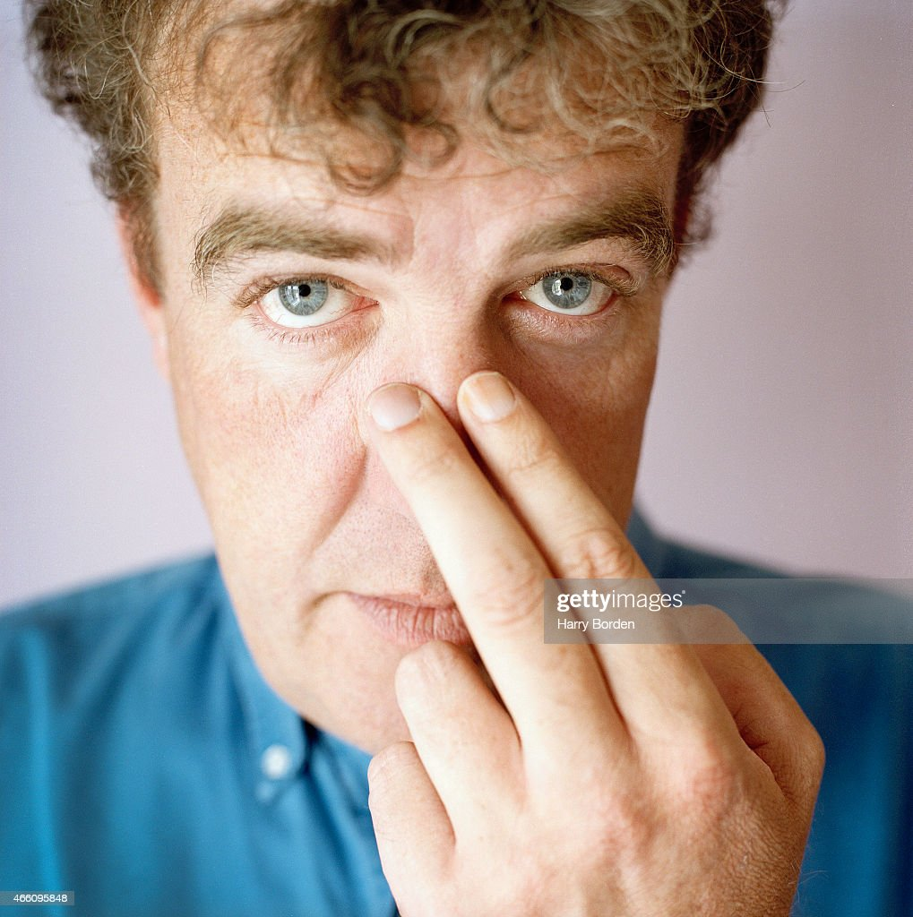 Tv presenter Jeremy Clarkson is photographed for Arena magazine on October 5, 2001 in London, England.