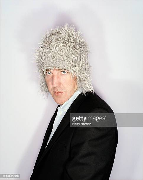Tv presenter Jeremy Clarkson is photographed for Arena magazine on October 5 2001 in London England