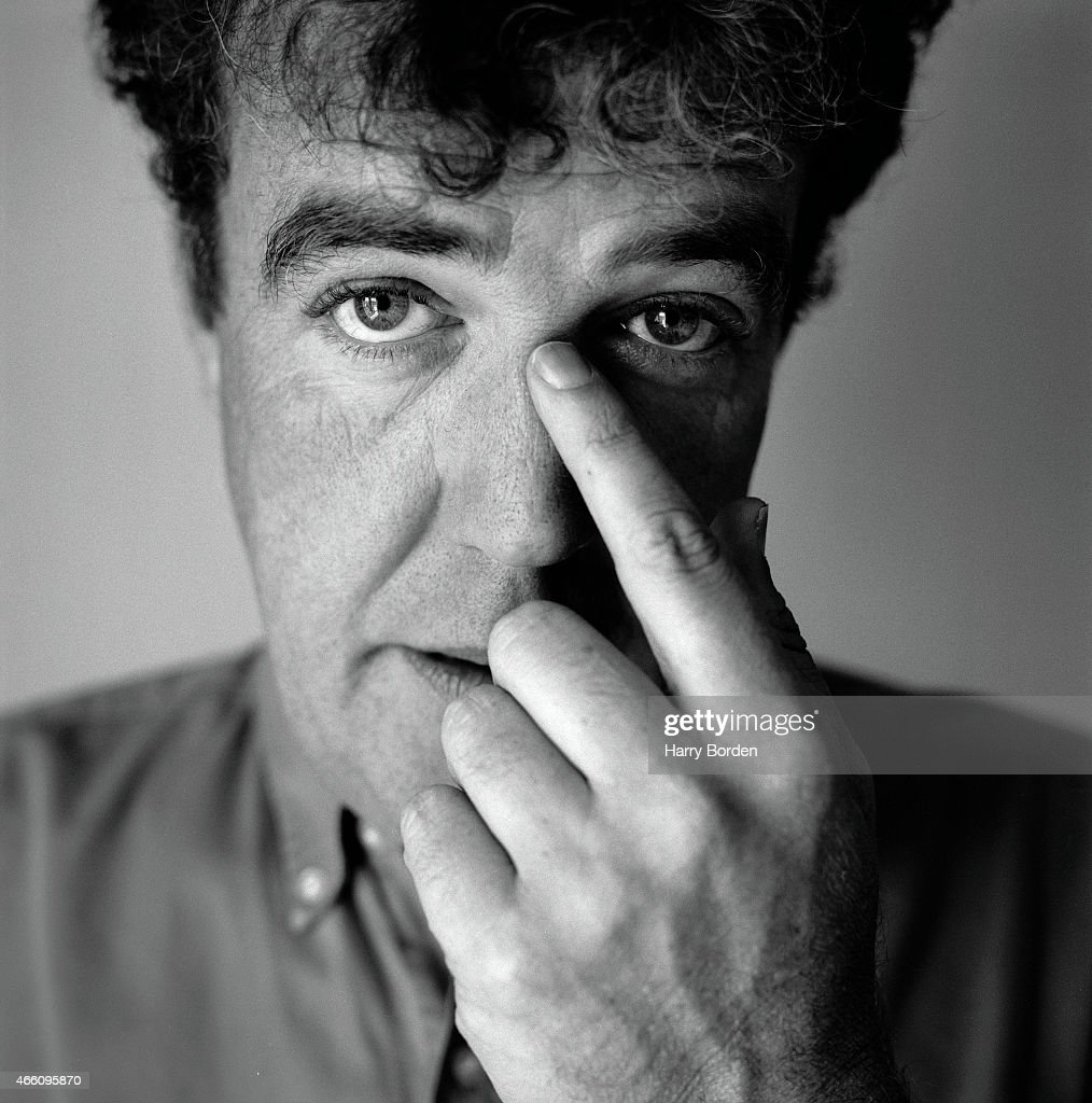 Tv presenter <a gi-track='captionPersonalityLinkClicked' href=/galleries/search?phrase=Jeremy+Clarkson&family=editorial&specificpeople=217586 ng-click='$event.stopPropagation()'>Jeremy Clarkson</a> is photographed for Arena magazine on October 5, 2001 in London, England.